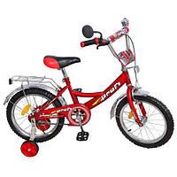 Велосипед детский 14 дюймов P 1441 красный DDM