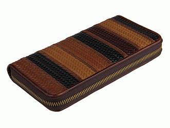 Кошелёк S.J.D. 8091-1C кожаный Коричневый