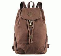 Городской мужской рюкзак S.J.D. 9008C Коричневый