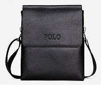 НЕБОЛЬШАЯ мужская сумка через плечо Polo. Маленькая сумка. КС7