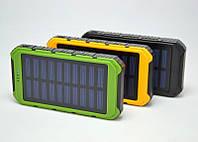 Портативный аккумулятор Power Bank Solar 15000 mAh 2 USB VZX mag KX