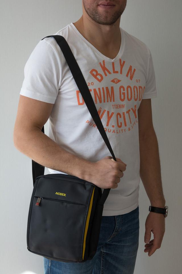 вместительная сумка мужская