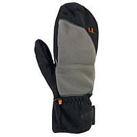 Рукавицы флисовые Ferrino Tactive XL (9.5-10.5) Black/Grey для лыж и альпинизма
