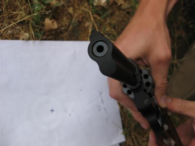 револьвер флобера Stalker вид со ствола