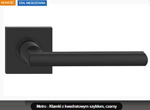 Дверная ручка  Metal-bud Metro нержавеющая сталь