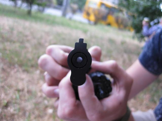 гладкий ствол револьвера флобера Stalker
