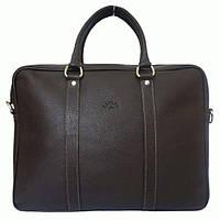 Мужская деловая кожаная сумка Katana (Франция) K69261-2 Коричневый