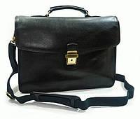 Мужской кожаный портфель Katana (Франция) K36822-1 Черный