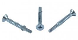 Саморез со сверлом для крепления деревянных конструкций к металлическому профилю (9T1-M2R)