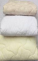 Одеяло летнее двуспальное евро лебяжий пух 200г/м2 200*210 хлопок (7209) TM KRISPOL Украина