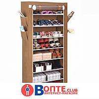 Тканевый шкаф для обуви и аксессуаров Shoe Rack and Wardrobe YQF-1190