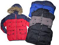 Куртка зимняя для мальчика, Glostory, размеры 92/98.104/110.116/122.128. арт. ВМА  2735