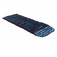 Спальный мешок High Peak Scout Comfort/+5°C (Left) Dark blue