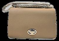 Прямоугольная женская сумочка DAVID DJONES желтовато-коричневого цвета LLW-080171, фото 1