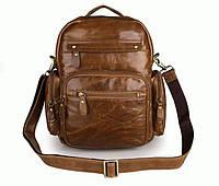 Кожаные мужской рюкзаки S.J.D. 2751B  Коричневый