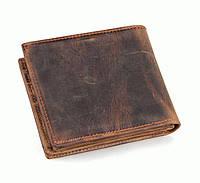 Мужской кошелек портмоне кожаный S.J.D. 8056R Коричневый