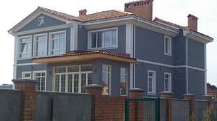 Фасадный декор и вензель из пенопласта в Одессе, Царское село 4