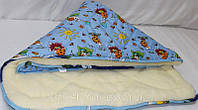 Одеяло детское меховое,теплое,Украина