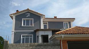 Фасадный декор и вензель из пенопласта в Одессе, Царское село 5