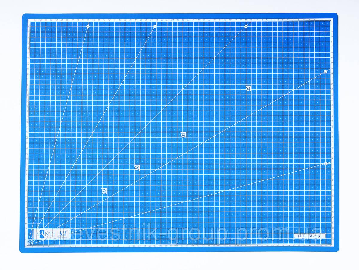 Макетный самовосстанавливающийся коврик для резки ( Cutting Mat ) Santi, А2 (740553)