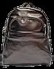 Небольшой женский рюкзак из искусственной кожи коричневого цвета  WLQ-700429