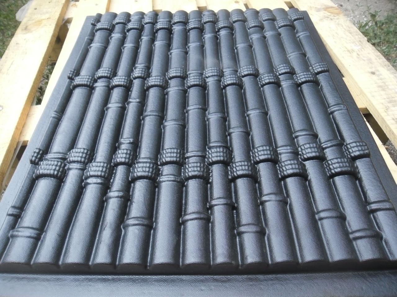 "Пластиковая форма для 3d панелей ""Бамбук"" 50*40 (форма для 3д панелей из абс пластика)"