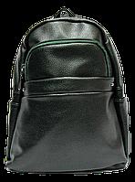 Небольшой женский рюкзак из искусственной кожи зеленого цвета  WLQ-703332, фото 1