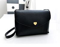 Женская сумочка клатч черная