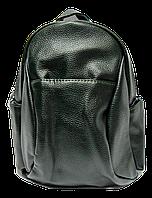 Стильный женский рюкзак из искусственной кожи зеленого цвета  HHV-007540, фото 1