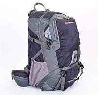 Туристичний, велосипедний,  спортивний рюкзак SWISSGEAR 40L (black) + Rein cover