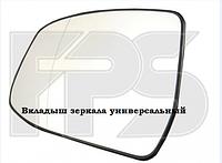 Вкладыш зеркала правый с обогревом Qashqai 2014-