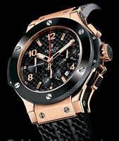Часы Hublot Big Bang gold black 116 (копия)