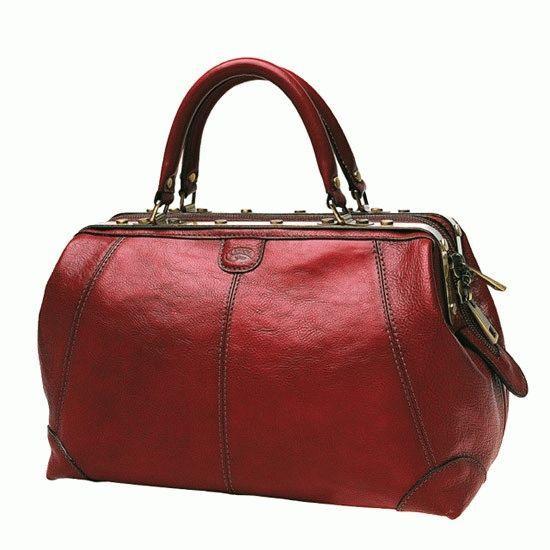 cbe8448d Женская кожаная дорожная сумка Katana 1150red Красный - Интернет-магазин  livelyshop в Виннице