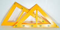 Треугольник для доски, набор 2 предмета 5965, фото 1