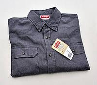 Мужская джинсовая рубашка Wrangler® (M)/100% хлопок /Оригинал из США)