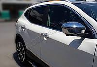 Renault Kadjar Накладки на ручки (4 шт., нерж.)