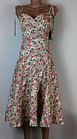 Летнее платье сарафан  из хлопка качество С