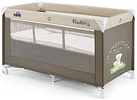 Кроватка-манеж Cam Pisolino Темно-бежевый (L118-100)