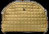 Прекрасная женская стеганая сумочка бежевого цвета DDJ-422153