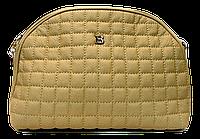 Прекрасная женская стеганая сумочка бежевого цвета DDJ-422153, фото 1