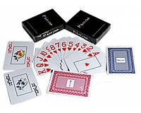 Карты игральные пластиковые «Poker Club» (Красная/Синяя Рубашка)