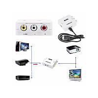Конвертер HDMI-AV(RCA)