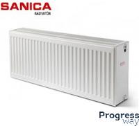 Sanica стальной панельный радиатор тип 33 300х600