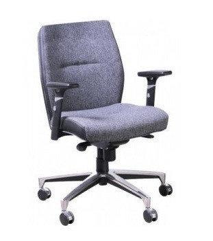 Кресло Элеганс LB Сидней-5, боковины Неаполь-20 (черный) (AMF-ТМ)