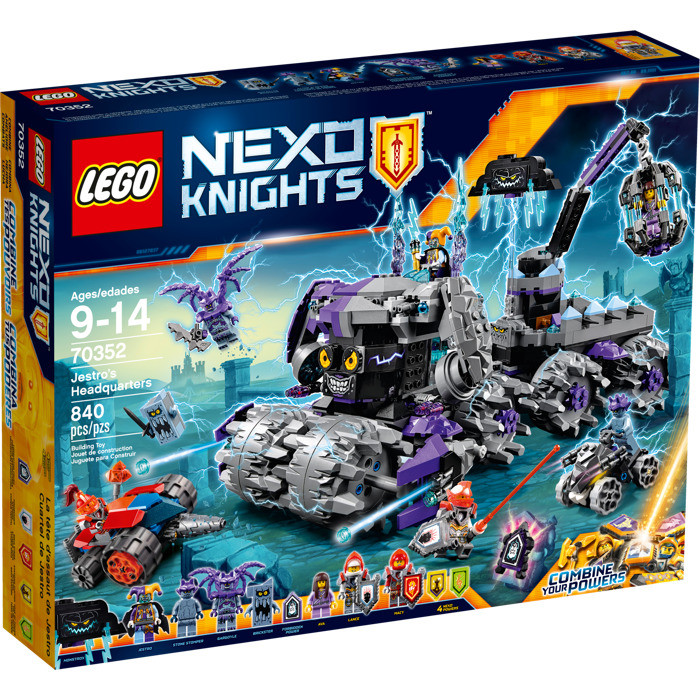 LEGO Nexo Knights 70352 JESTRO'S HEADQUARTERS Штаб Джестро