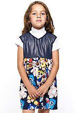 Красивый сарафан для девочки 058 мишки, фото 2
