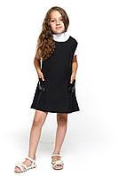 Черный сарафан в школу для девочки 061