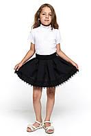 Школьная юбка для девочки 063 черная