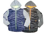 Куртка термо для мальчика на флисе,  8,10,14,16 лет, F&D арт. YY-2712