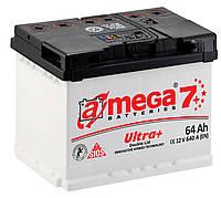 Аккумулятор Автомобильный Amega 7 ultra+ 64 Ah (Амега) 64 А